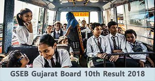 GSEB Gujarat Board 10th Result 2018